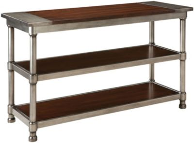 Standard hudson 48 inch console table homemakers furniture for Sofa table 48 inches