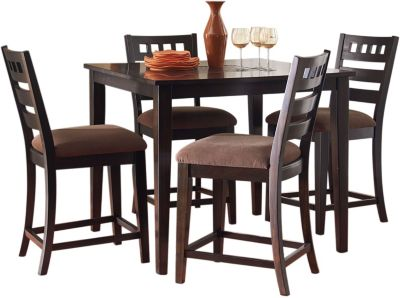 Standard Furniture Sparkle Counter Table & 4 Stools