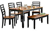 Standard Furniture Lexford Table & 4 Side Chairs