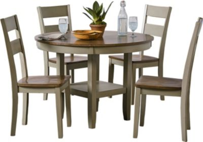 Standard Furniture Pendleton Sage Table & 4 Chairs
