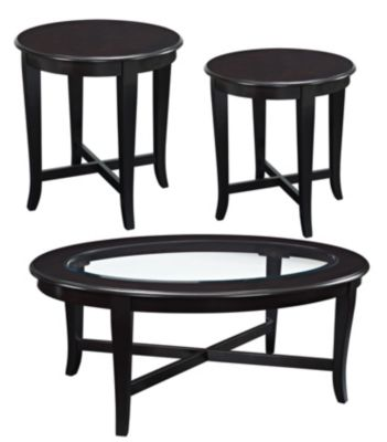 Standard Furniture Sommerset Coffee Table & 2 End Tables