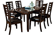 Standard Furniture Bella Table & 6 Chairs