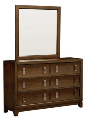 Standard Furniture Amanoi Dresser with Mirror
