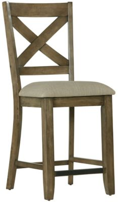 Standard Furniture Omaha Grey Counter Stool Homemakers Furniture