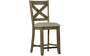 Standard Furniture Omaha Grey Counter Stool