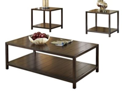 Standard Furniture Tucker Coffee Table & 2 End Tables