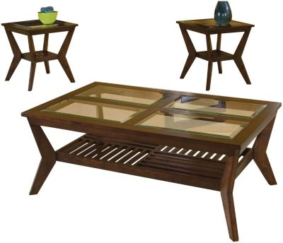 Standard Furniture Norway Coffee Table & 2 End Tables