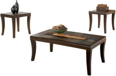 Standard Furniture Laguna Coffee Table & 2 End Tables