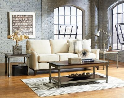 Standard Furniture Hudson Coffee Table & 2 End Tables