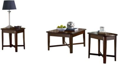 Standard Furniture Townhouse Coffee Table & 2 End Tables
