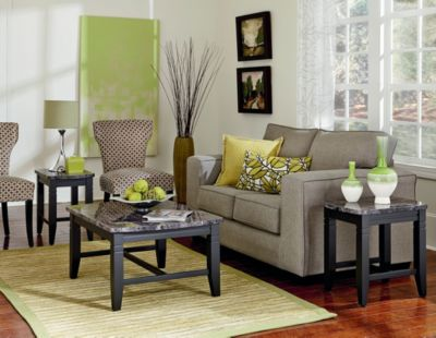 Standard Furniture Boroughs Coffee Table & 2 End Tables