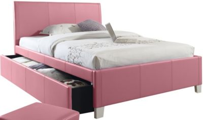 Standard Furniture Fantasia Pink Twin Trundle Bed