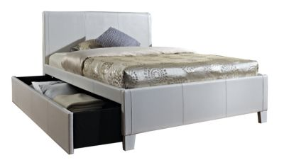 Standard Furniture Fantasia White Twin Trundle Bed
