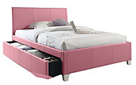 Standard Furniture Fantasia Pink Full Trundle Bed