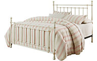 Standard Furniture Bennington White Twin Metal Bed