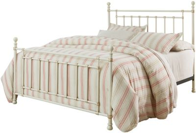 Standard Furniture Bennington White Full Metal Bed