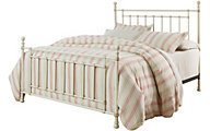 Standard Furniture Bennington White King Metal Bed