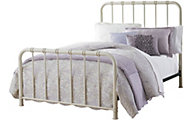 Standard Furniture Tristen White Twin Metal Bed