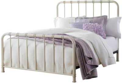Standard Furniture Tristen White Queen Metal Bed