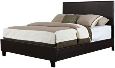 Standard Furniture Bolton Brown Queen Upholstered Bed