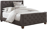 Standard Furniture Carmen Dark Gray King Upholstered Bed