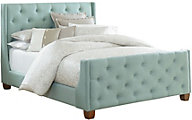 Standard Furniture Carmen Blue King Upholstered Bed