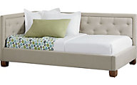 Standard Furniture Carmen Gray Twin Corner Bed