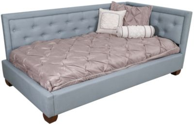 Standard Furniture Carmen Blue Twin Corner Bed