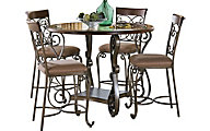 Standard Furniture Bombay Counter Table & 4 Stools