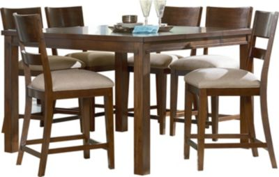 Standard Furniture Cameron 7-Piece Counter-Height Dining Set