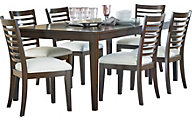 Standard Furniture Noveau Dining Table & 6 Chairs
