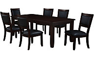 Standard Furniture Barclay Table & 6 Side Chairs