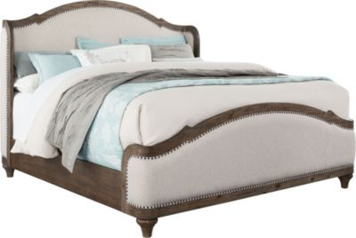 Standard Furniture Parliament King Upholstered Bed