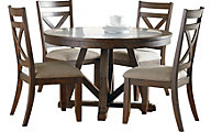 Standard Furniture Carter Table & 4 Side Chairs