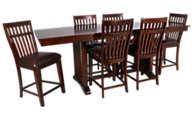 Standard Furniture Artisan Loft Counter Table & 6 Stools