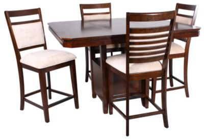 Standard Furniture Avion Counter Table & 4 Stools