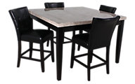 Steve Silver Monarch Counter Table & 4 Stools