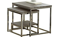 Steve Silver Lucia Dark Nesting Tables
