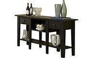 Steve Silver Liberty Antique Black Sofa Table