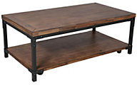 Steve Silver Lantana Coffee Table with Casters