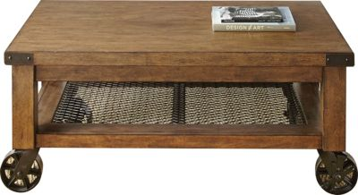 Steve Silver Hailee Coffee Table with Casters