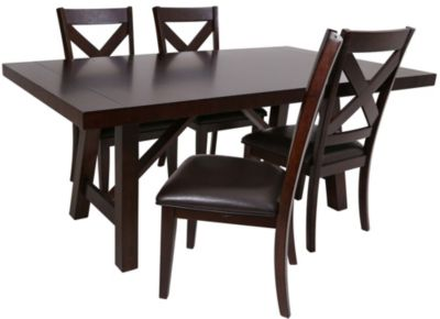 Steve Silver Clapton Table & 4 Chairs