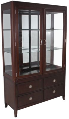 Steve Silver Montblanc China Hutch & Buffet