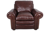 Steve Silver Yosemite 100% Leather Chair