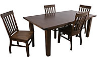 Steve Silver Hailee Table & 4 Chairs