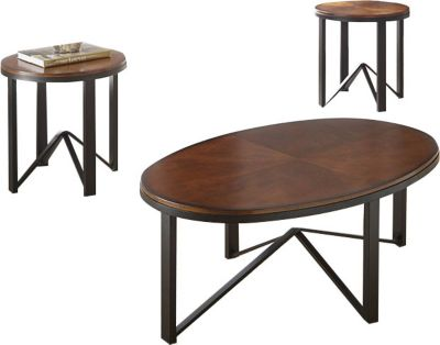 Steve Silver Chloe Coffee Table & 2 End Tables