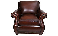Steve Silver Jamestown 100% Leather Chair