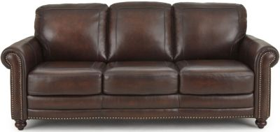 Steve Silver Ellington 100% Leather Sofa