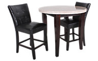 Steve Silver Monarch Pub Table & 2 Stools
