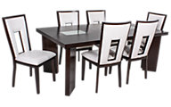 Steve Silver Delano Table & 6 Chairs